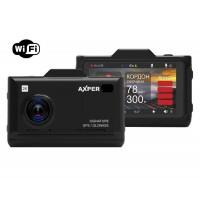 Автомобильный видеорегистратор и радар детектор AXPER Combo Hybrid Wi