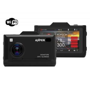 Автомобильный видеорегистратор AXPER Combo Hybrid Wi