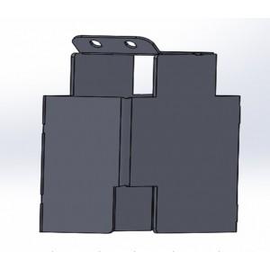 Защита блока сертификации Lexus RX-300 /19+ (Bronebox 9559)
