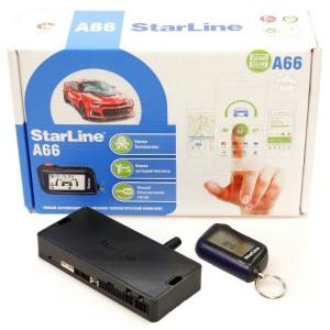 Автомобильная сигнализация StarLine A66 2CAN+2LIN