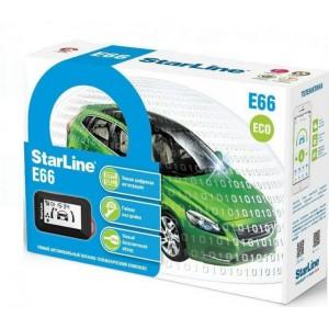 Автомобильная сигнализация StarLine E66 ECO