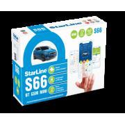 Автомобильная сигнализация StarLine S66 ВТ GSM MINI