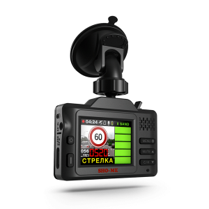 Автомобильный видеорегистратор и радар детектор Sho-Me Combo Smart