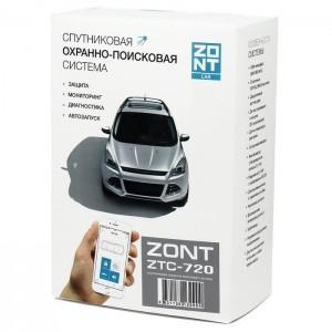 Автомобильная GSM-сигнализация ZONT ZTC-720 (метка)