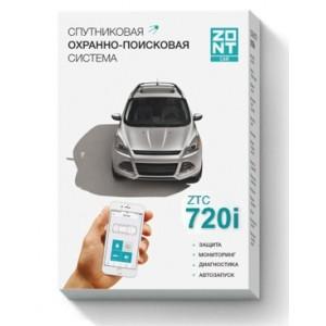 Автомобильная GSM-сигнализация ZONT ZTC-720i (метка)